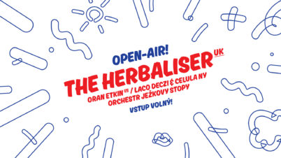 Open-air: The Herbaliser (UK), Laco Deczi, Oran Etkin, Orchestr Ježkovy stopy